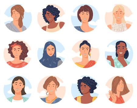 diverse women avatar