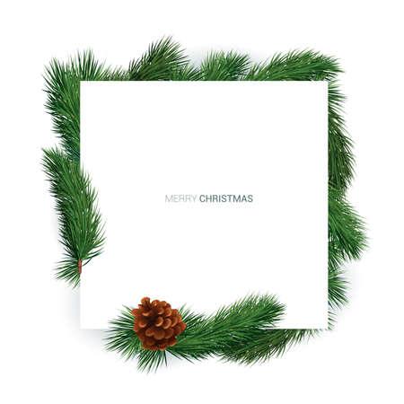 Winter holiday background Illustration