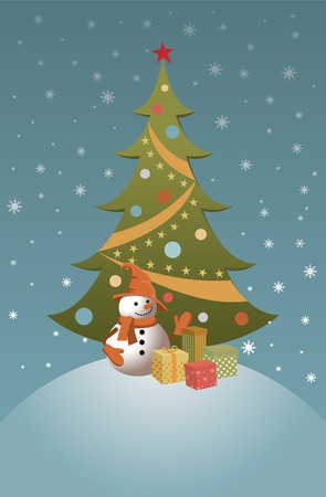 Vector illustration for the holiday of Christmas. Stock Vector - 8380285