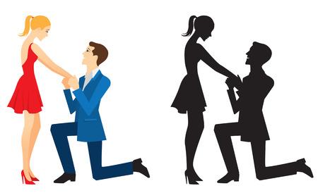 conversa: Un hombre joven habla sobre su amor por su novia