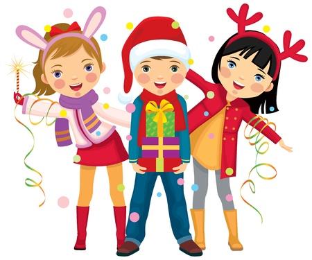 Children s Christmas party a surprise