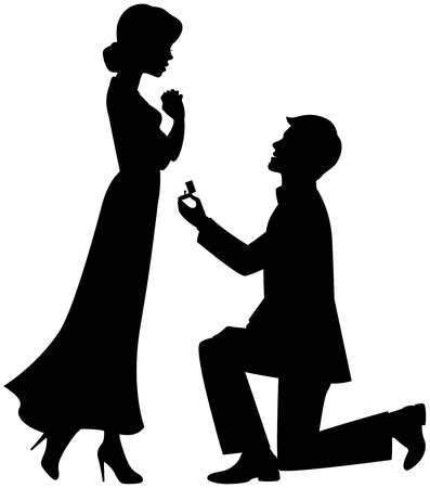 engagement: Marriage proposal