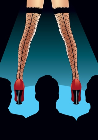 Stripper Illustration