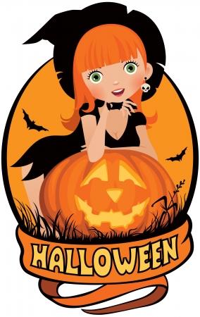 Vector illustration on the theme of Halloween Stock Vector - 14573326