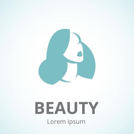 Woman symbol for beauty studio