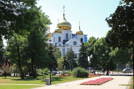 alexander nevsky: Alexander Nevsky Cathedral in the city of Krasnodar