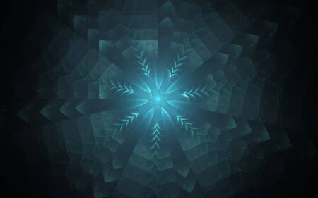digital image generated on a computer consisting of beautiful abstract geometric shapes, lines of different colors for a background image or web design.