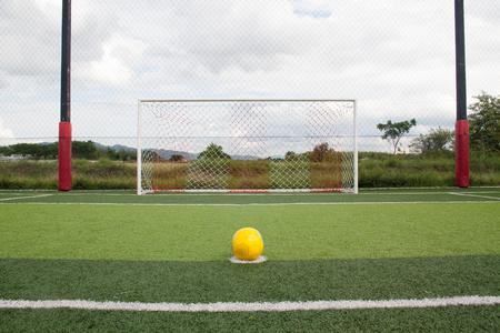 penalty kick artificial grass