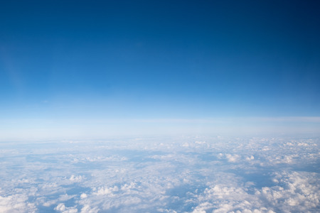 Blue sky background with cloudy