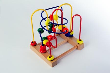 Maze abacus toy Stock Photo - 10109929