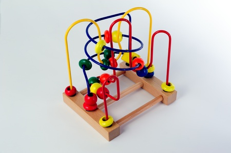 Maze abacus toy Stock Photo - 10109929