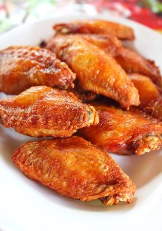 pollo frito: Tailandés pollo frito Foto de archivo