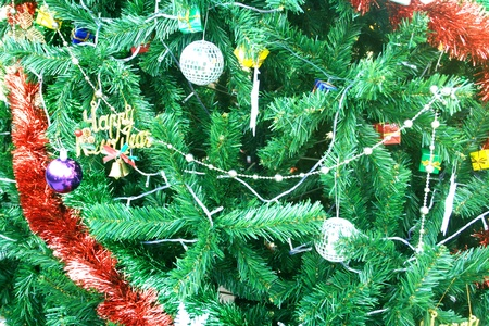 Christmas Tree and decorations photo