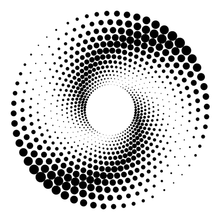 background of round dots with space to insert text