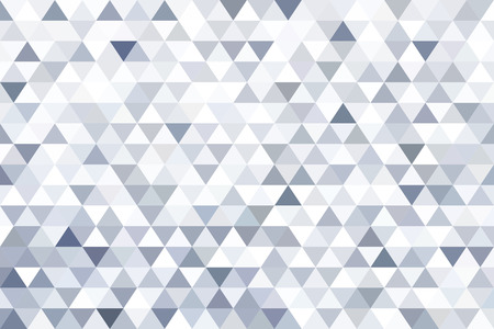 Grey triangle abstract background. Original vector illustration. Illustration