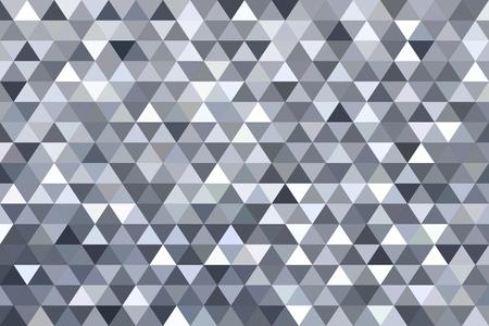 Grey triangle abstract background. Original vector illustration. 일러스트