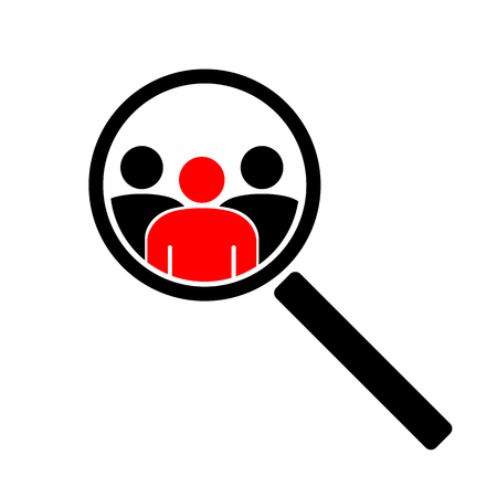The search icon Illustration