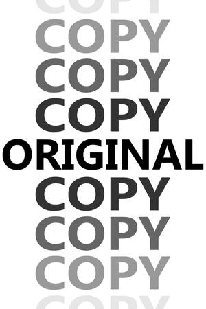 Original and copies