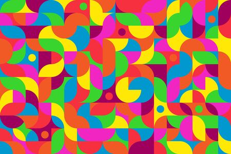 Bright colorful multicolor background for the most daring design projects Ilustracja