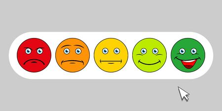 Emoticons set. Emoji faces emoticon smile, digital smiley expression emotion feelings