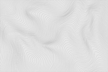 Gray linear abstract background for your design. Vector illustration. Stock Illustratie