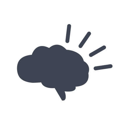 Intellectual thinking icon