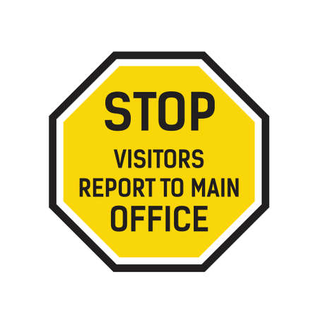 Stop Visitors Report To Main Office