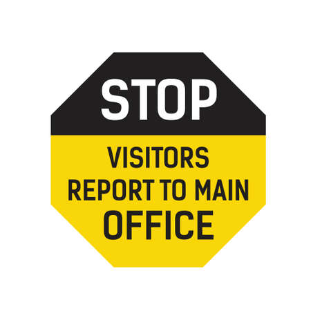 Visitors Report To Main Office