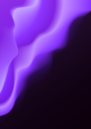 Blurry smoky vector background Illustration