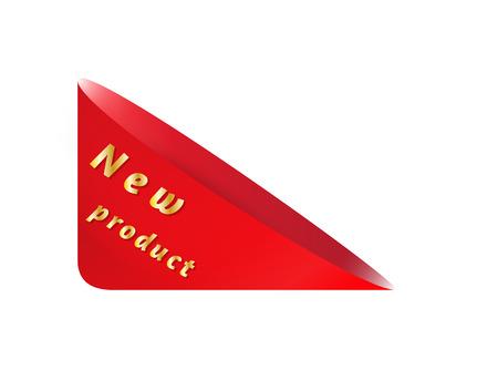 empty pocket: bolsillo vac�o tri�ngulo rojo con el nuevo producto en el fondo blanco Vectores