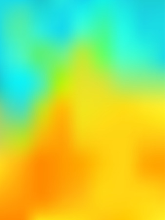 abstract background looking like the thermography image with blue, green, yellow and red colors