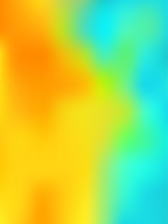abstract background looking like the thermography image with blue, green, yellow and red colors Vector