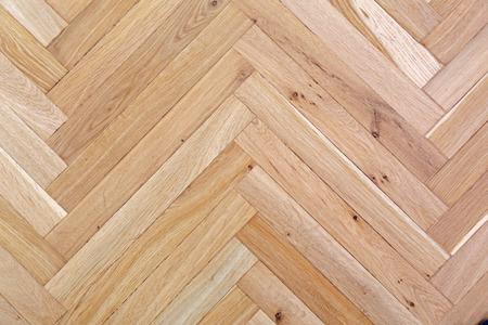 verdieping van het houten parket, detail foto