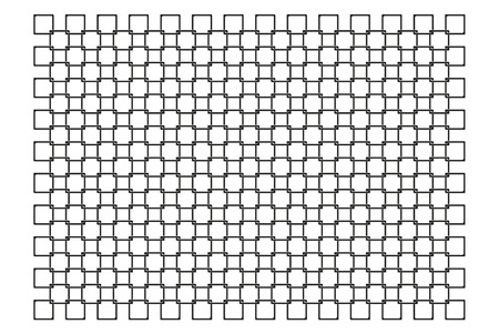 chainlink fence: chain fence on white background