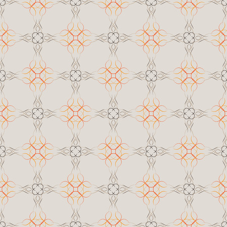 seamless pattern with brown background, vector background Vector