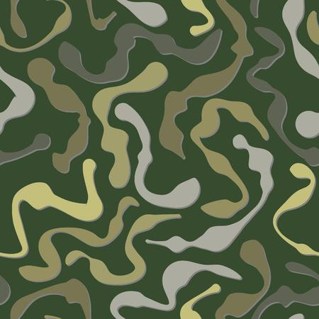 fatigues: green fatigues seamless pattern on green background, vector