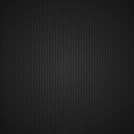 empty corrugated black cardboard background, vector template