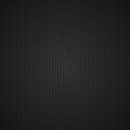 lege gegolfd karton zwarte achtergrond, vector sjabloon