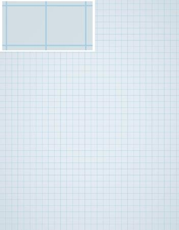 sheet of paper: graph paper background with many small squares