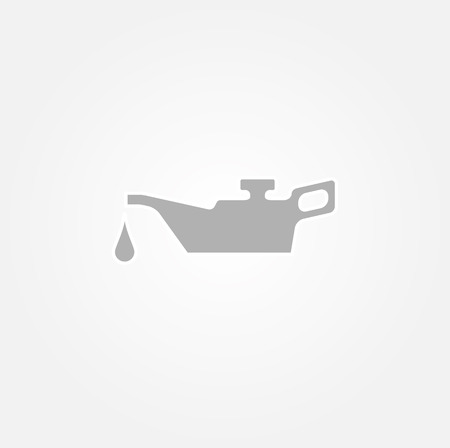 oilcan: gray old oiler icon on gray gradient background Illustration