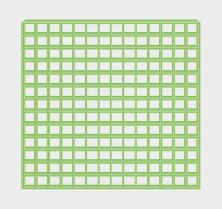 jail: many green jail bars on gray background