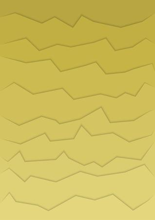 rupture: abstract yellow background with many horizontal cracks