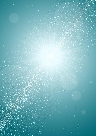 shining star: abstract color background, shining star lights background