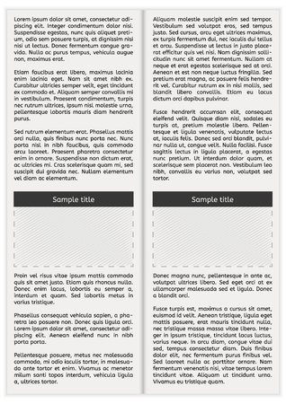 Newspaper Page Template Royalty Free Cliparts Vectors And Stock