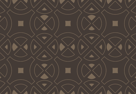 Seamless pattern. Circle abstract elements. Repeating abstract background.
