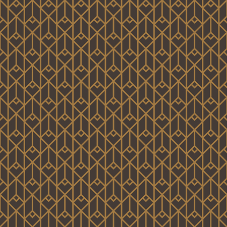 Seamless pattern. Linear crossing curves. Repeating abstract background. 版權商用圖片 - 123636638