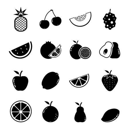 pomegranate juice: Fruit Icon