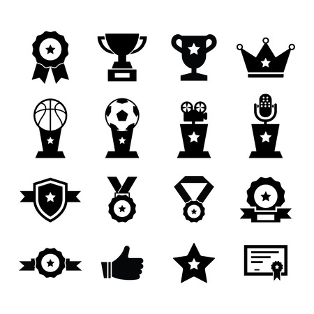 wining: Award Icon set for your design