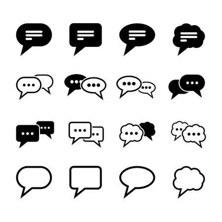 message bubble: Speech Icon