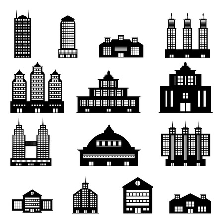 Building Vector Stock Vector - 28031219